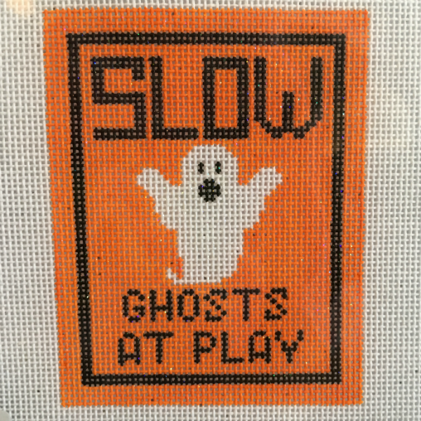 Slow Ghosts at Play sign from Kimberly Ann