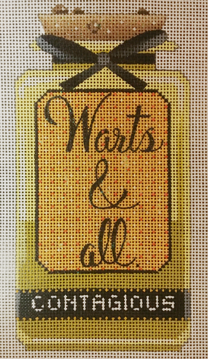 Warts & All Bottle from Kirk & Bradley
