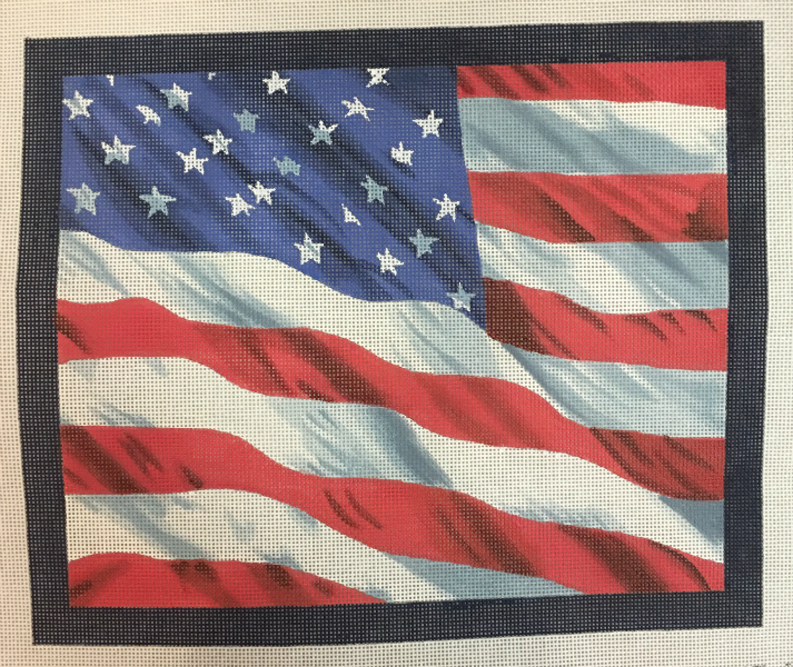 US Flag by Kirk & Bradley