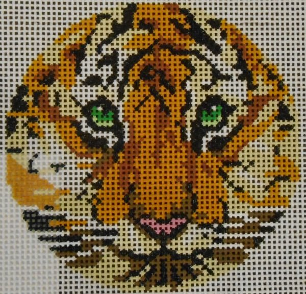 Tiger Face 3 round by Lee