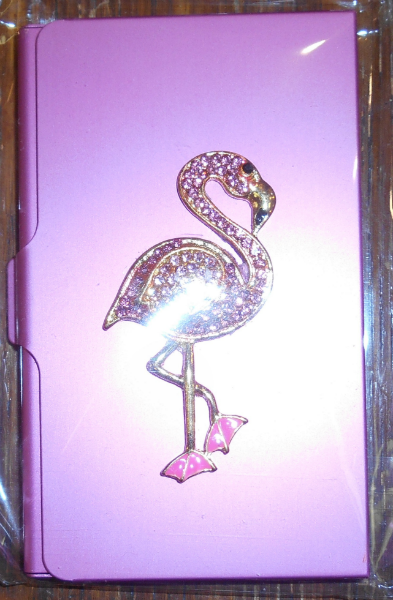 Jeweled Magnetic Needle Case from Accoutrements - Flamingo