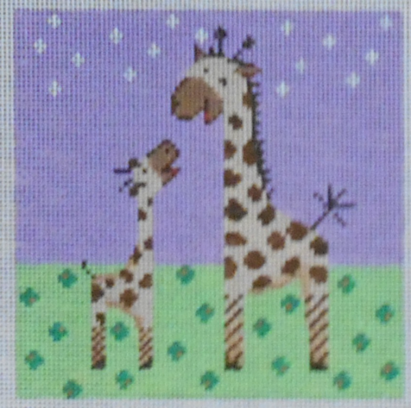 Giraffes by Patti Mann