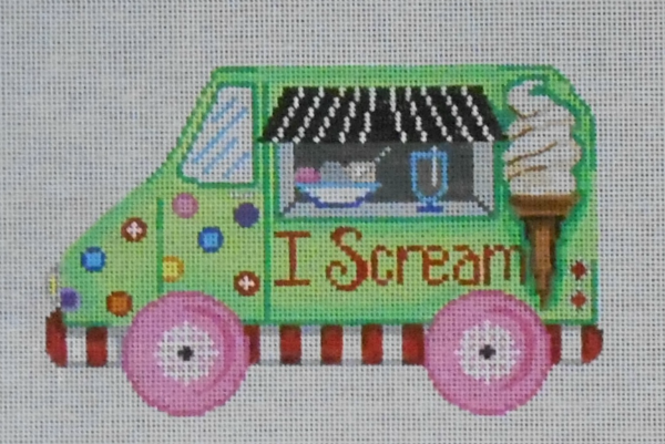 I Scream Ice Cream Truck by Patti Mann