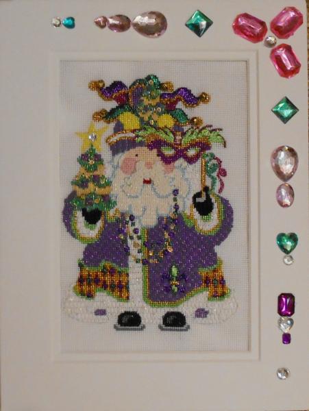 OWD Mardi Gras Santa + Stitch Guide