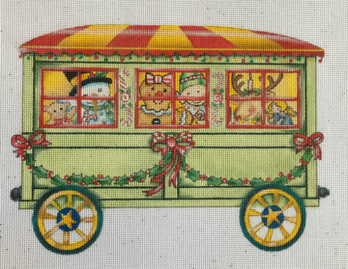 Toyland Passenger Train Car from Mary Engelbreit