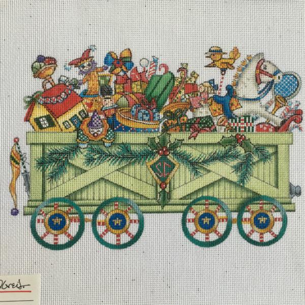 Toyland Open Box Car from Mary Engelbreit