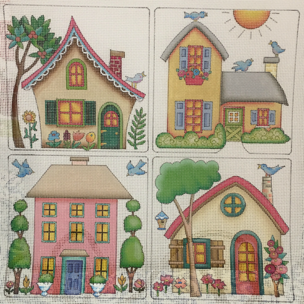 Four Houses from Mary Engelbreit