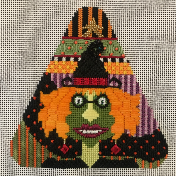 Candy Corn - Mehitabel from Needle Deeva - stitched