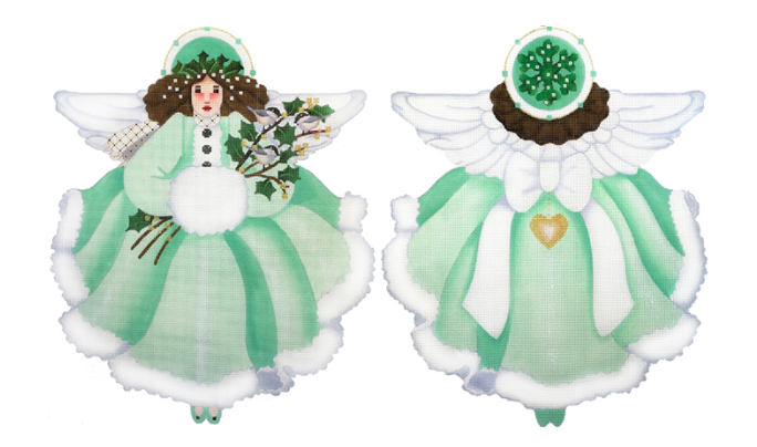Wintergreen Treetop Angel from Melissa Shirley
