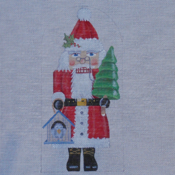 Santa Nutcracker by Mary Lake Thompson from Melissa Shirley
