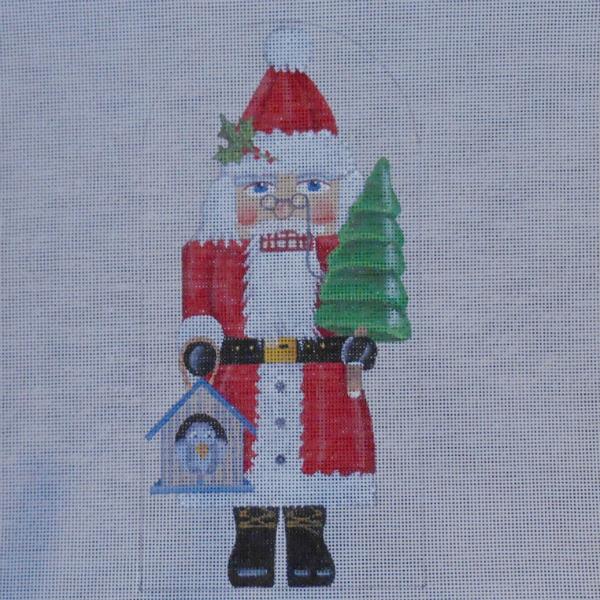 Santa Nutcracker by Mary Lake Thompson from Melissa Shirley