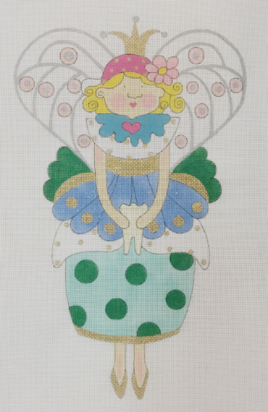 Tess the Tooth Fairy Pillow from Mile High Princess