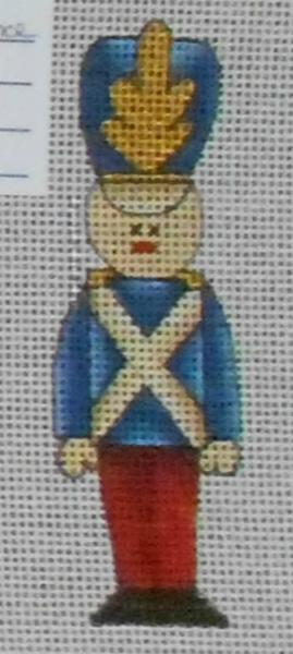 Soldier Boy Advent Calendar Ornament from Renaissance Designs