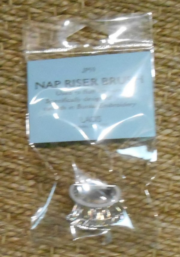Nap Riser Brush from Lacis