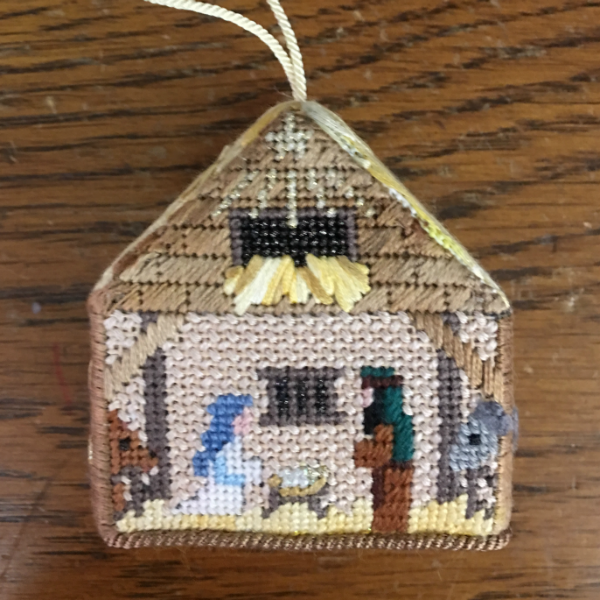 Nativity 3D Ornament - finished