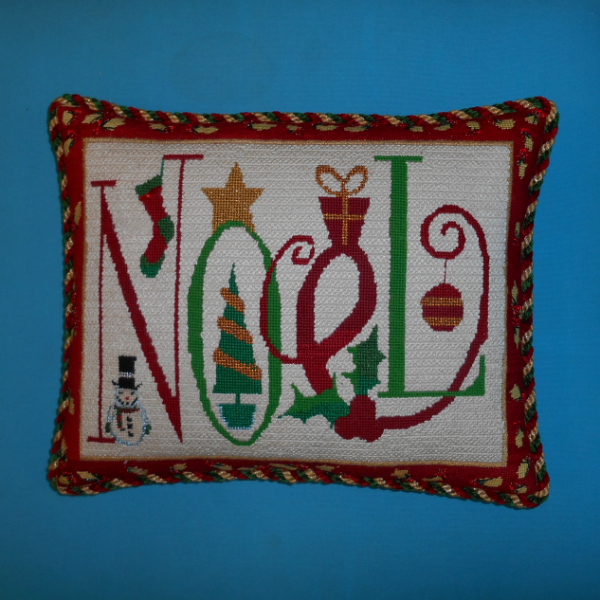 Noel Pillow finished