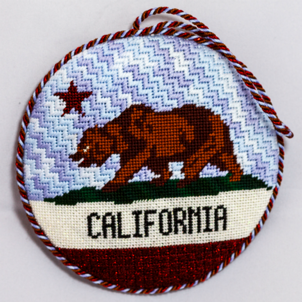 OWD Ornament - California State Flag