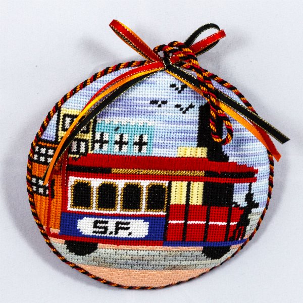 OWD Ornament - San Francisco Cable Car