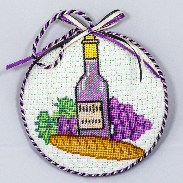 OWD Ornament - Wine and Bread
