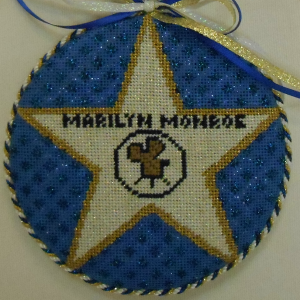 OWD Ornament - Marilyn Monroe Star