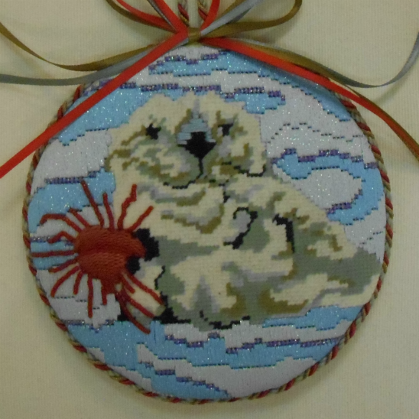 OWD Ornament - Sea Otter with Sea Urchin