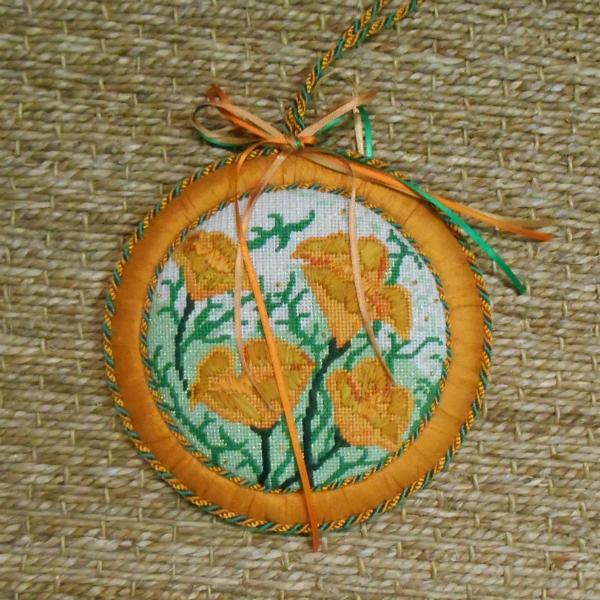 OWD Exclusive California Poppy Ornament