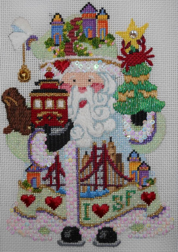 OWD San Francisco Santa + Stitch Guide