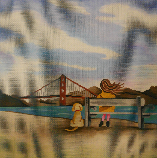 Watching the Bridge by Patti Mann