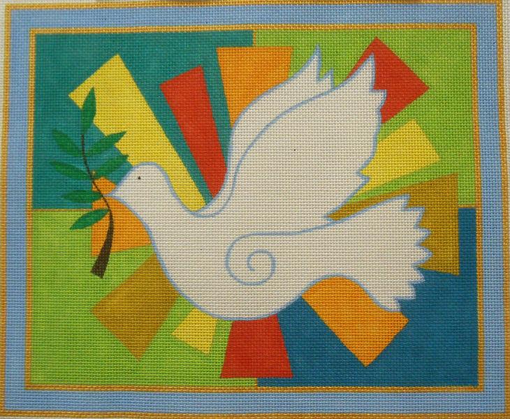Peace Dove Tallis Bag from Fleur de Paris