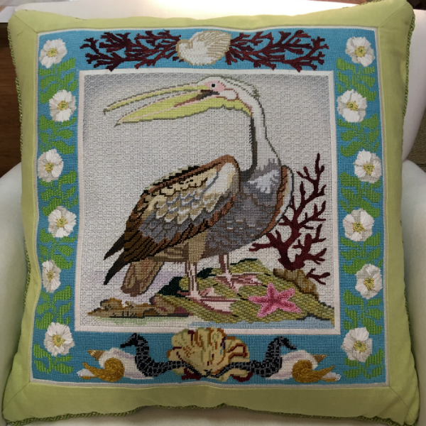 Pelican Pillow - finished
