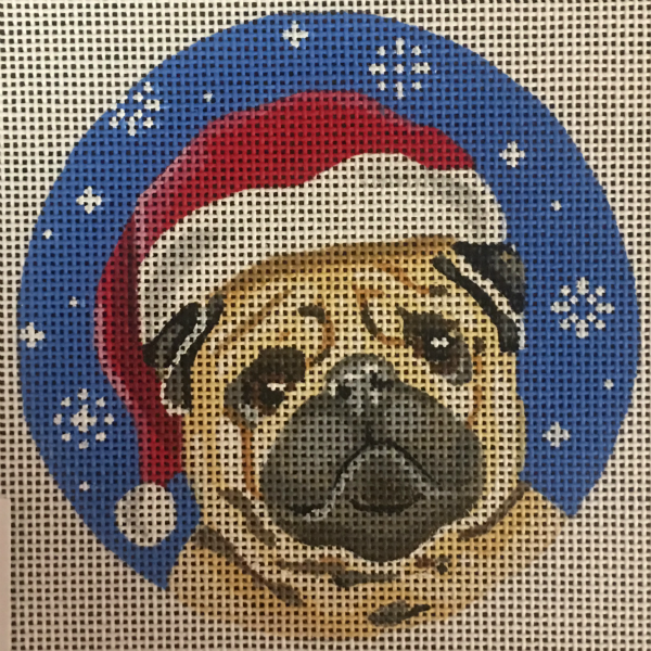 Christmas Pug Ornament from Pepperberry