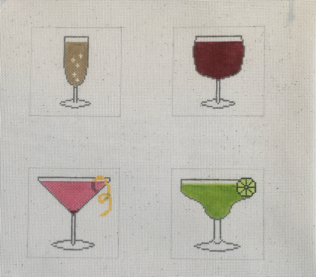 Cocktail Coasters from Point 2 Pointe