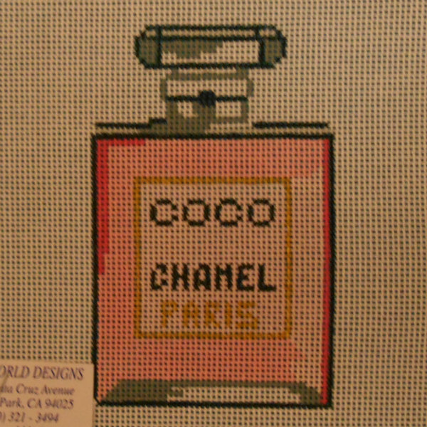 Coco Chanel Perfume Bottle from Point of It All Designs