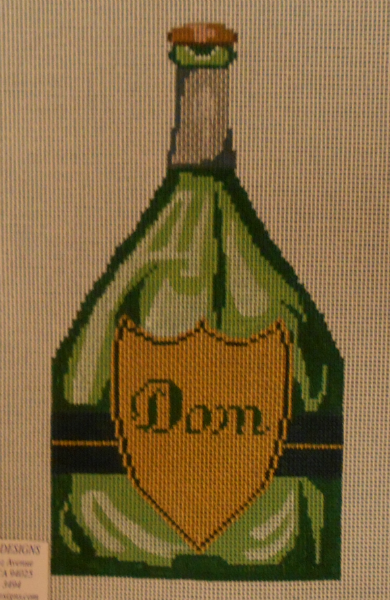 Dom Champagne Bottle from Point of It All Designs