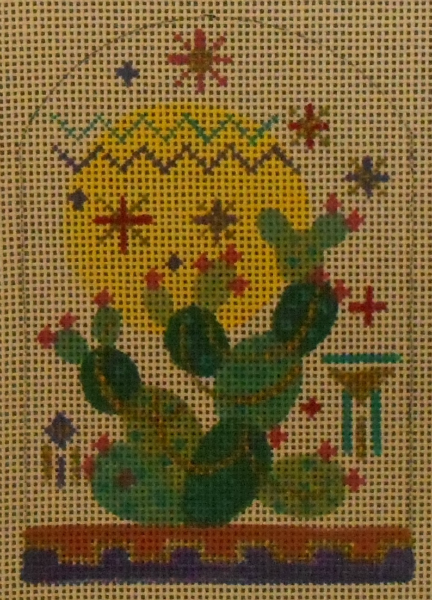Prickly Pear Ornament by Tish from Sundance