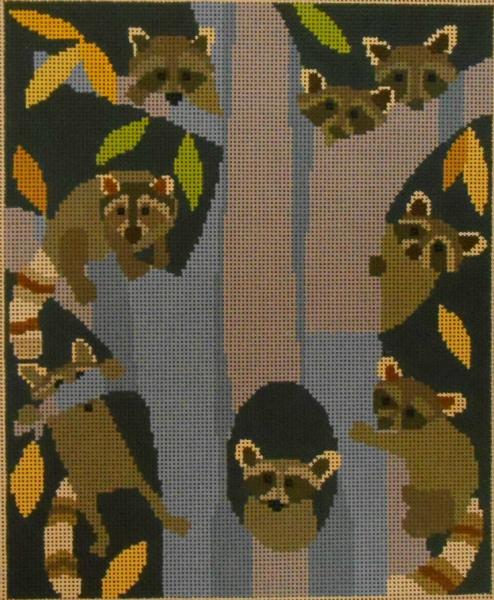 Raccoon Gaze from Waterweave