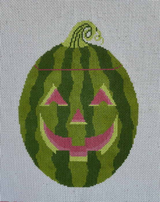 Watermelon Jack o'Lantern from Rachel Donley