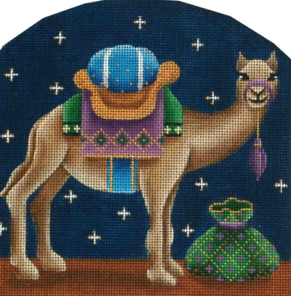Dome Nativity Camel by Rebecca Wood