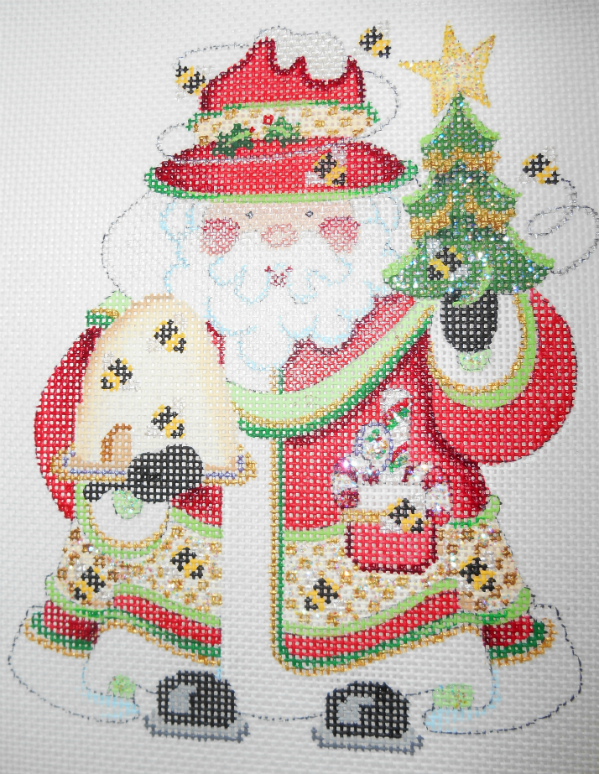 OWD Beekeeper Santa + Stitch Guide (May)
