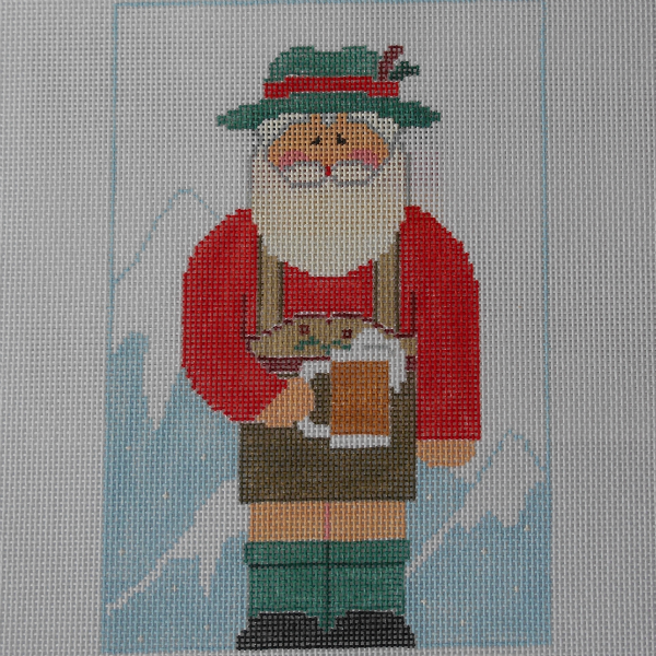 International Santa - Germany  + Stitch Guide