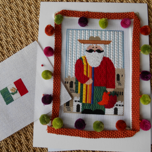 International Santa - Mexico  + Stitch Guide