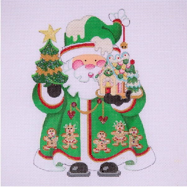 OWD Green Santa + Stitch Guide (March)