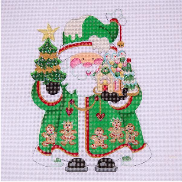 OWD Green Santa + Stitch Guide (March)