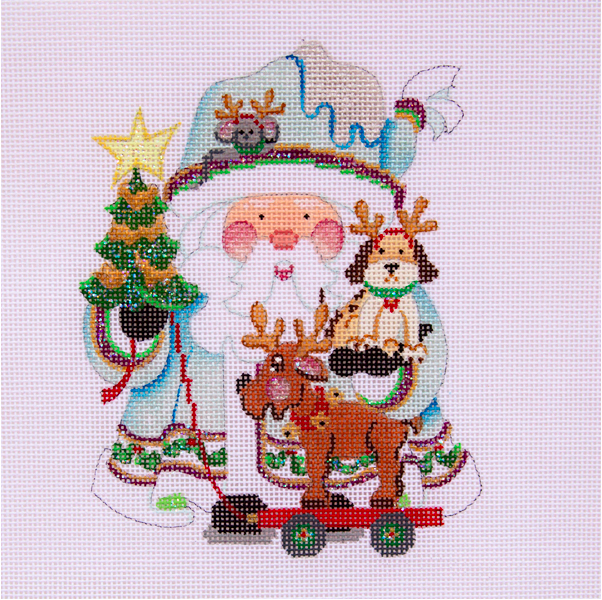 OWD Santa  & Friend prepare for Christmas + Stitch Guide (November)