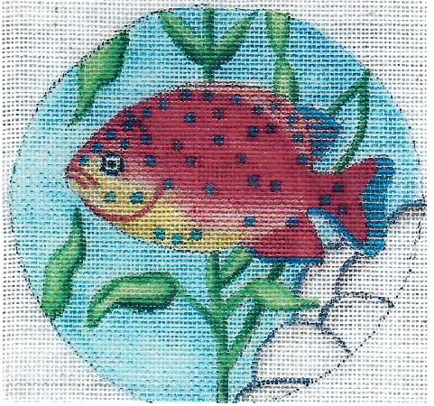 OWD Ornament - Garibaldi Fish