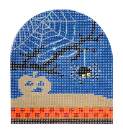 Halloween Spider from Kirk & Bradley + Stitch Guide by June McKnight