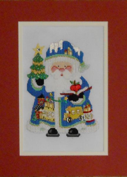 OWD 2015 Strictly Christmas September Santa - stitched