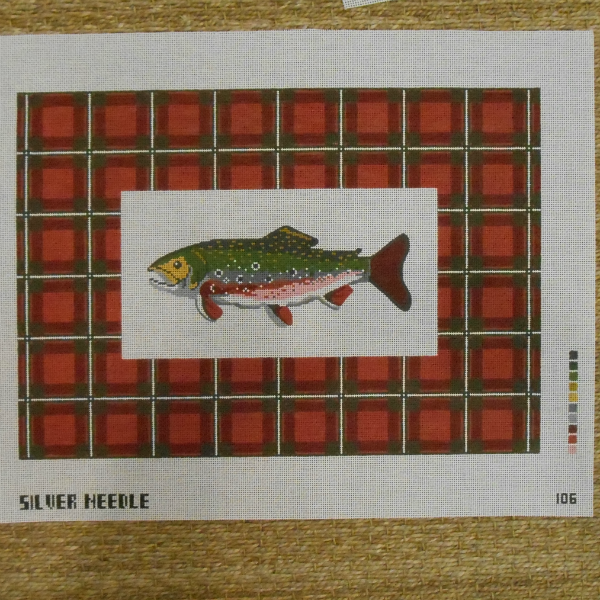 Plaid Trout from Silver Needle
