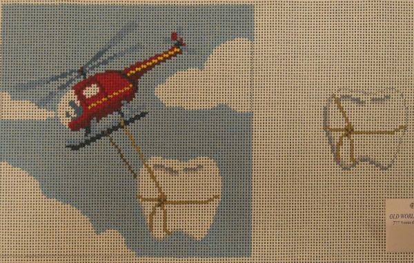 Helicopter Tooth Fairy Pillow from Susan Roberts