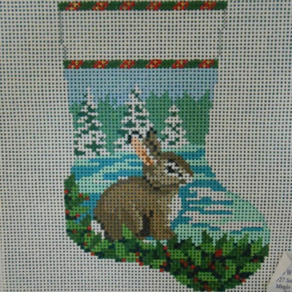 Bunny mini stocking from Susan Roberts